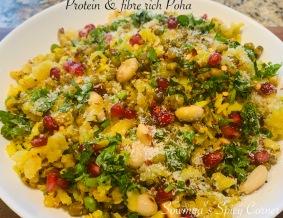 Protein & fibre rich Poha