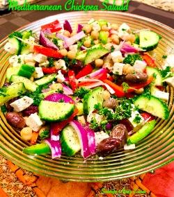 Mediterranean Chicpea Salad
