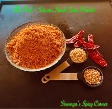 Ellu Podi / Sesame seeds Spice Powder