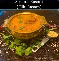 Sesame Rasam / Ellu Rasam