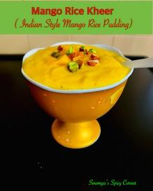 Mango Rice Kheer