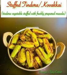 Stuffed Tindora / Kovakkai